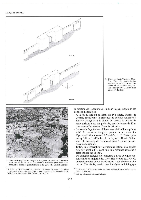La Fortification De Kastron Mayfa A Umm Ar Rasas