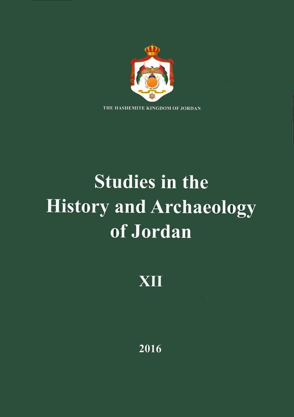 II. The origin of Transjordanian and Syrian polities