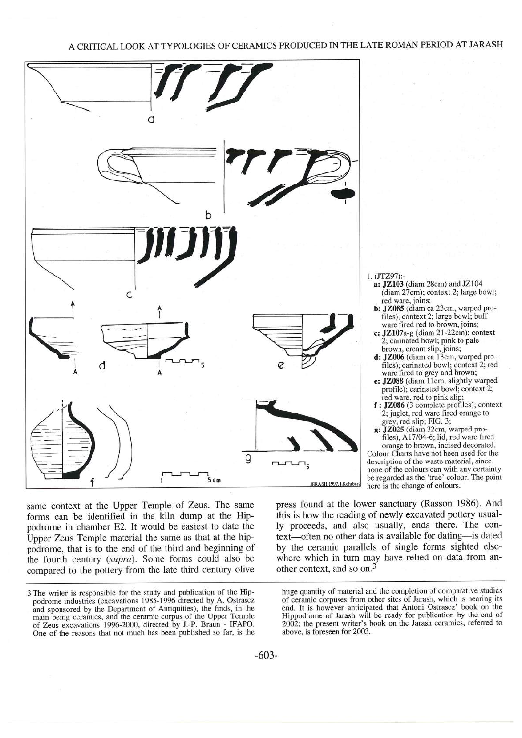 A critical look at typologies of ceramics produced in the late